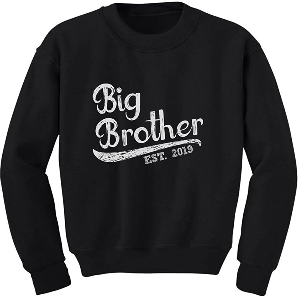 Tstars Gift for Big Brother 2019 Youth Kids Long Sleeve T-Shirt