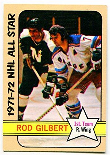 1972/73 Topps Rod Gilbert All Star Card #125 New York Rangers