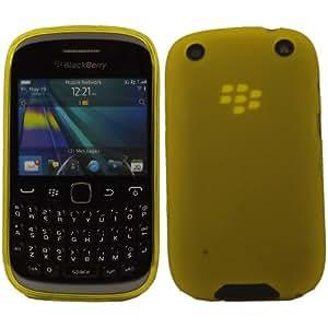 Gel Concha Caso Cubrir Para Blackberry 9320 / Yellow