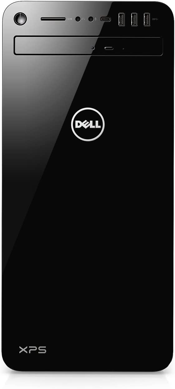 Dell XPS 8930-7814BLK-PUS Tower Desktop i7-8700 32GB DDR4 RAM, 1TB Hard Drive + 16GB Intel Optane Memory, 6GB Nvidia GeForce GTX 1060, DVD Burner, Windows 10 Pro, Black (Renewed)