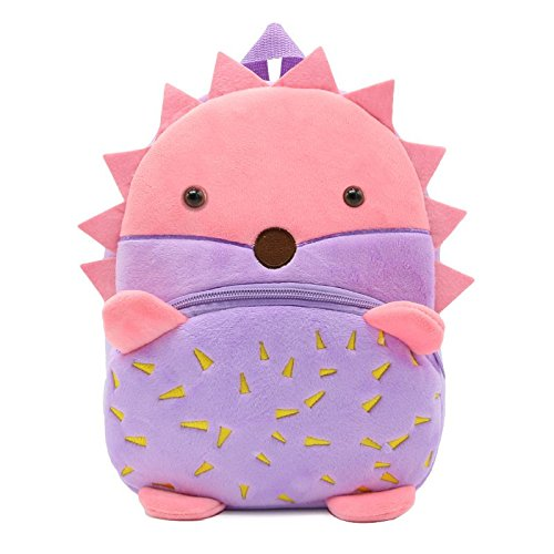Amazon.com: JJSSGJBB Student backpack Cartoon Animals Children School Bags Cozy Soft Plush For Toddler Baby Snacks Candy Backpack Kindergarten Kids Mochila ...