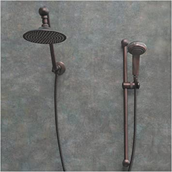 oil rub bronze rain shower head handheld with spray canada heads