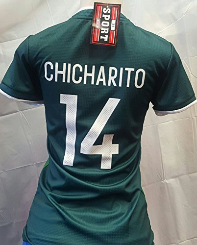 New! Ladies Chicharito Mexico National Team Generic Replica Jersey 2018 Size - Team Mexico Jersey