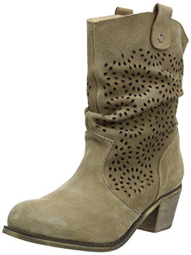 Casa Andrea Mujer Conti 1121551 por Taupe de Estar 066 Marrón Braun Zapatillas para qY4ZTq