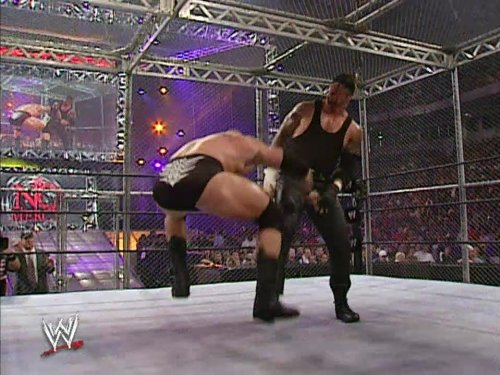 No Mercy October 20, 2002, Hell In A Cell Match for the WWE Chmapionship, The Undertaker vs. Brock Lesnar