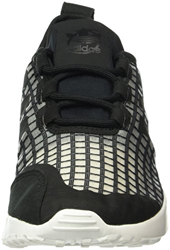 Baskets 40 Eu core Femme Adv Zx Basses Flux Adidas White Verve Noir core Black 0IRTWq