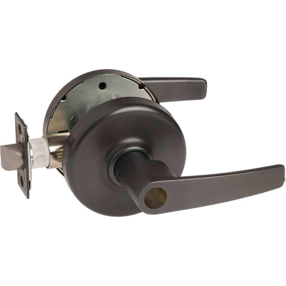 Oil Rubbed Dark Steel//Zinc//Bronze 2-3//4 Backset Corbin Russwin CL3851-AZD-613-LC Grade 2 Entrance//Entry//Office 2-3//4 Backset Non Handed 613