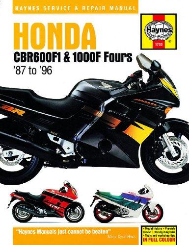 Honda CBR 600F1 1000F Repair Manual Haynes Service Manual Workshop Manual 1987-1996 Haynes Publishing