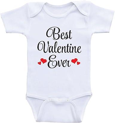 Our little valentine cute red babygrow onesie baby girl baby boy