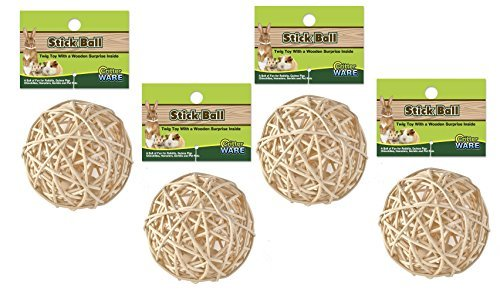 Nutty Stick Ball (Ware Nutty Stick Ball Treats by Ware)