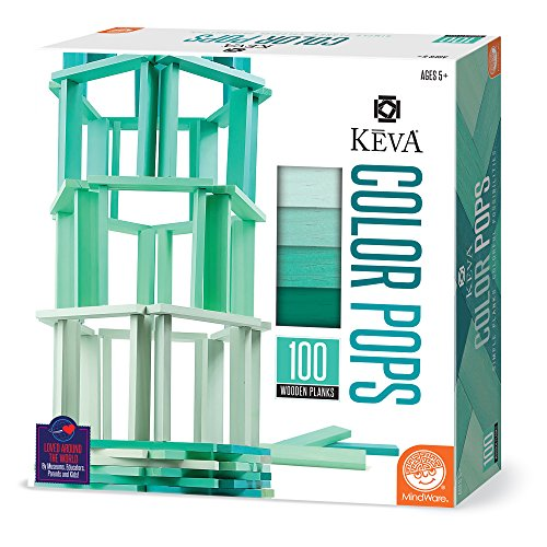 MindWare KEVA Color Pops (Teal)