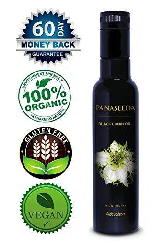 Black Cumin Seed Oil, Perfect Press, Nigella Sativa, Immune System Booster, Vitamins B1, B2, B3, Digestive Support, Vegan, Organic, Gluten Free, 250 ml