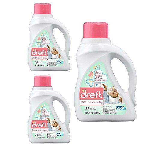 Dreft Stage 2 Active Baby Laundry Detergent - Original Baby