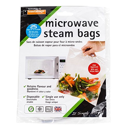 (Planit Products, Bag Microwave Steam Bags, 1 Count)