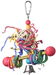 Super Bird Creations 7-1/2 by 5-1/2-Inch Vine Ring Tweeter Totter Bird Toy, Small