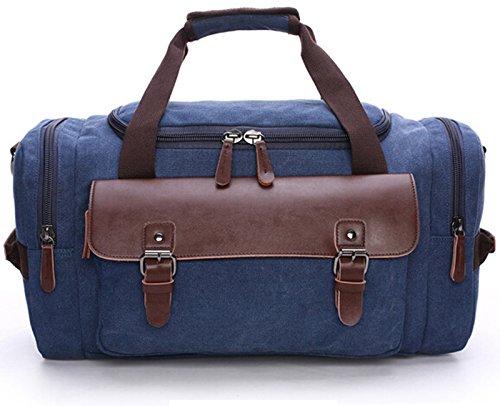 Canvas Travel Bag Temperament Counter Large Capacity Tote Handbag Duffel Weekend Bag for trip,gym,work