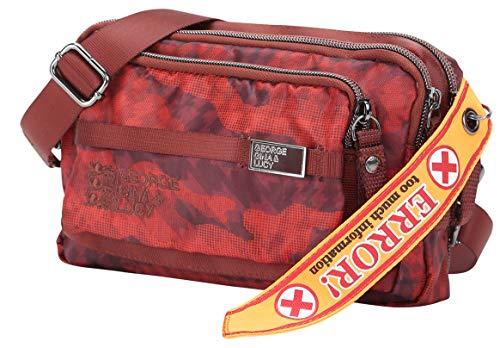 Mini Love A Gina Letters Tracolla Borsa Cm Red Bag George amp; Marsupio Lucy 20 Camou wXUxtqa1