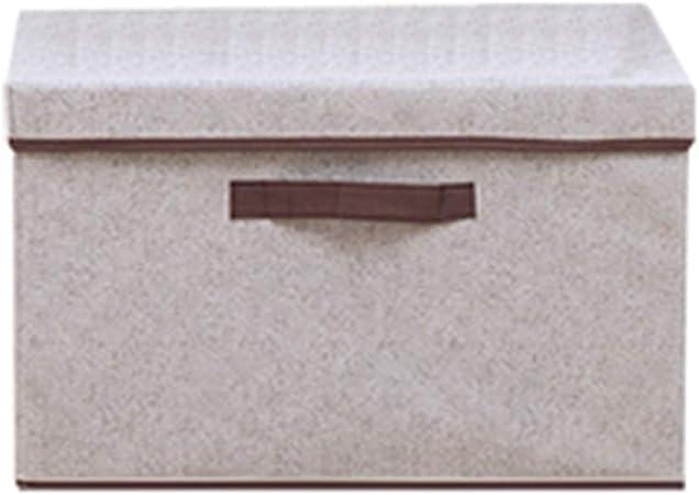 WEIYV Cestos para la Colada Caja De Almacenaje Plegable Tela No Tejida con Tapa Caja De Almacenamiento Armario Caja De Almacenamiento Tela Hogar Almacenamiento Hogar y Cocina: Amazon.es: Hogar