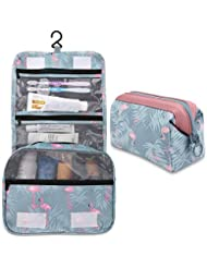 700bc00d23 2 Pieces Toiletry Bag Multifunction Hanging Cosmetic Bag Portable Organizer Makeup  Bags Pouch Large Capacity Waterproof