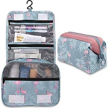 Amazon.com: 2 bolsas de aseo multifunción para colgar ...