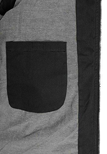 Hombre Invierno Black 9000 de SOLID Chaqueta Jacket Dry para 4wx70qYI7