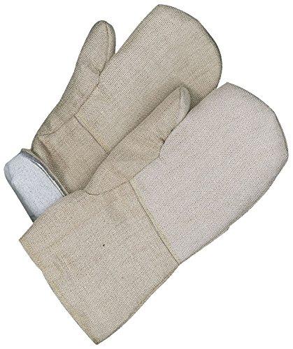 Bob Dale Gloves 639740SIL Hi Heat Silica Cloth Gauntlet Mitt Mlton Lining, by Bob Dale Gloves