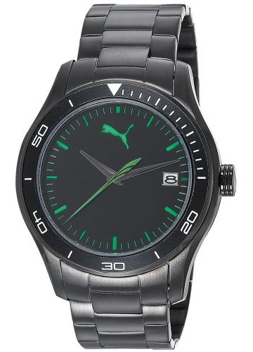 Puma Men's Watch(Model: Ride 3HD Metal-L Black)