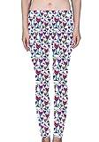Hualing Winery Theme Women's Printed Leggings Soft Stretchy Workout Yoga Pants Fashion Sports Pants (XXL)