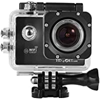 POTO C10 Full HD 1080P WIFI Sports Action Camera 2.0 Inch HD LCD Screen 170 Degrees Wide Angle 60M Waterproof Outdoor Camera