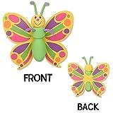Tenna Tops Pretty Butterfly Car Antenna Topper / Antenna Ball / Car Mirror Dangler