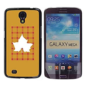 Paccase / SLIM PC / Aliminium Casa Carcasa Funda Case Cover para - Pink Text Quote Fashion Design - Samsung Galaxy Mega 6.3 I9200 SGH-i527