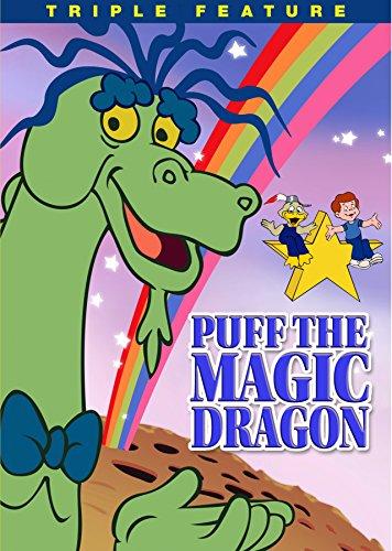 DVD : Puff the Magic Dragon - Triple Feature (Full Frame, Mono Sound, Amaray Case, Sensormatic)