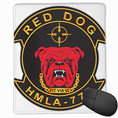 (Marine Light Attack Helicopter Squadron 773 (HMLA-773) V1 Comfortable Mouse Pad with Stitched Edge)