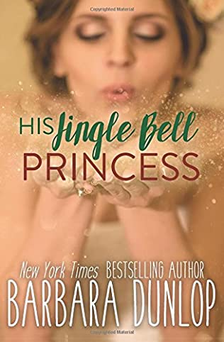 book cover of His Jingle Bell Princess