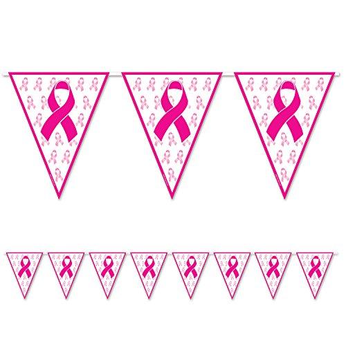 Beistle 54101 Ribbon Pennant Banner, 11