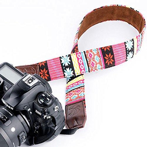 Scott ALlah Design - Aztec Pink Fashion Camera Shoulder Strap DSLR Camera Neck Strap Belt for All Type Camera All Brand (Nikon Canon Sony Olympus Samsung Pentax etc) (RoH 23793)