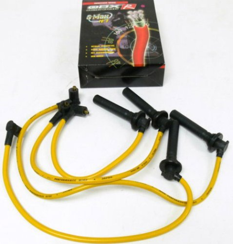OBX Yellow Spark Plug Wire Set 92-01 Honda Prelude ALL and 94-01 Honda Accord 4cyl. ONLY