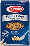 whole grain penne pasta - Barilla White Fiber Pasta, Shells, 12 Ounce (Pack of 12)