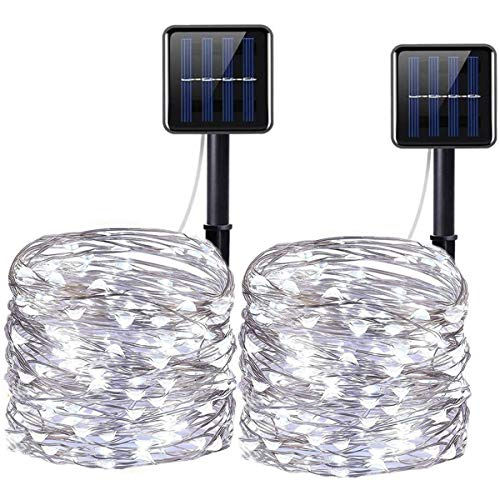 100 Led Solar Powered Fairy Lights in US - 4