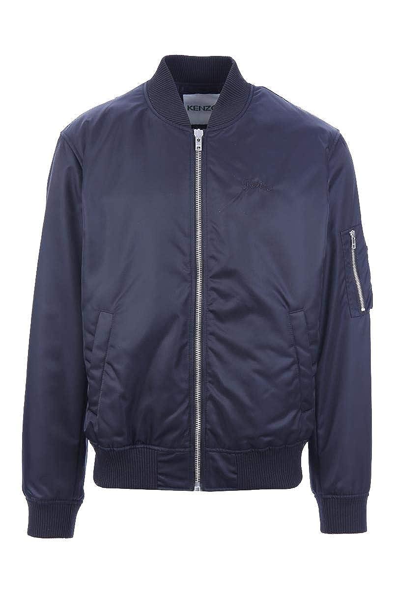 Kenzo Homme F865bl1671nb76 Bleu Polyester Blouson  Amazon.fr  Vêtements et  accessoires c8ab5af9a0e