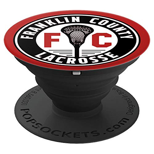 Franklin County Lacrosse Club Circle Design - PopSockets Grip and Stand for Phones and -