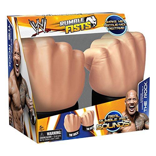 Tech 4 Kids WWE Rumble Fists - The Rock by Tech 4 Kids