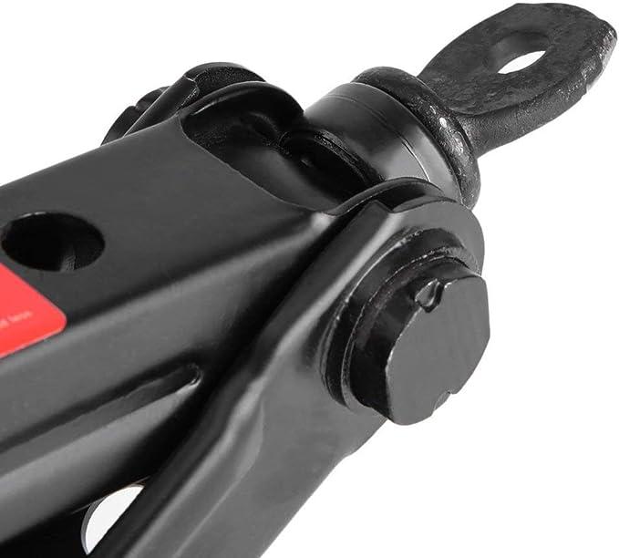 Heavy Duty Wind Up Scissor Jack Stands for Auto Car SUV Van Speed Handle Unique Groove Labor-Saving Screw Shaft Civigrape Scissor Jack 4000lbs Capacity
