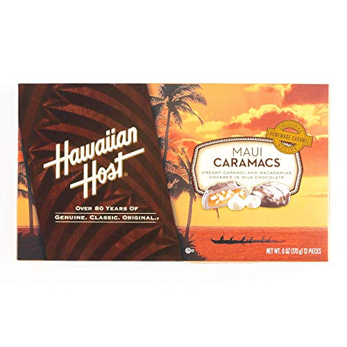 Hawaiian Host Maui Caramacs - 6 ounce box