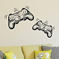 Joystick Playstation Gamepad Children Room Wall Sticker Mural Vinyl Decal Nursery Kids Gamers Art Teenager Video Game…