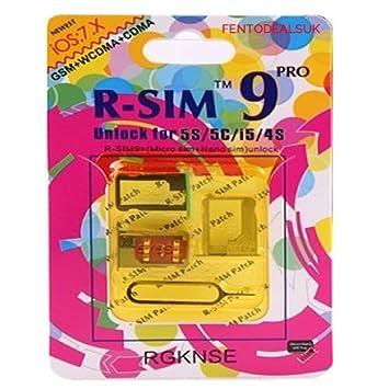 R Sim 9 Pro Turbo Kit De Déblocage De Carte Sim Pour Apple