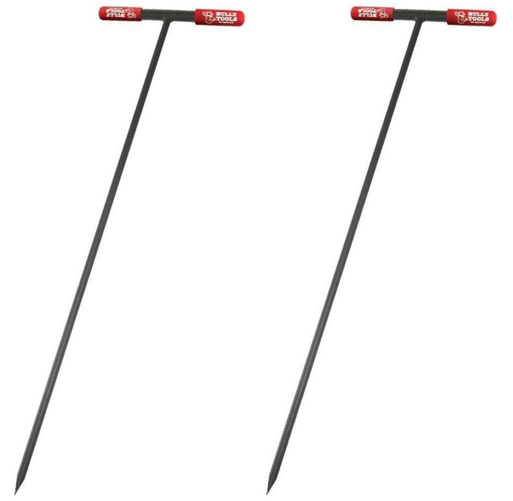Bully Tools 99203 Soil Probe Steel Tstyle Handle, 48_inch (Pack of 2) by Bully Tools