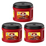 Folgers 100% Colombian, Medium-Dark Roast Ground Coffee, 24.2 Ounce (3 Pack)