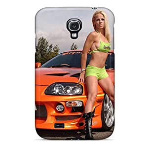 Premium Tpu The Fast And Furious Toyota Supra Cover Skin For Galaxy S4
