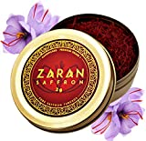 Zaran Saffron, Superior Saffron Threads (Premium) All-Red Saffron Spice (Highest Quality Saffron for your Paella, Risotto, Persian Tea, Persian Rice and Basmati Rice) (Persian (Super Negin), 2 gram)